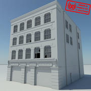 Building 1 OLD NoMat - HD Old Abandoned Building - 3ds max 2010 - No Materials 3d model