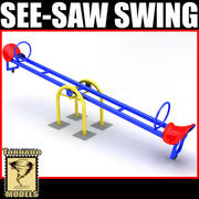 Voir Saw Swing 3d model