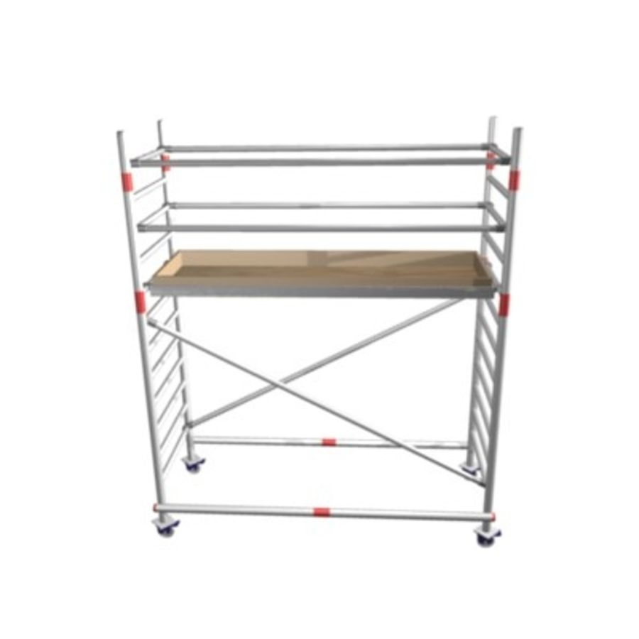 Scaffold royalty-free 3d model - Preview no. 1