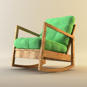 LILLBERG rocking chair 3d model