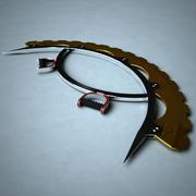 Centaurian Arc Blade 3d model