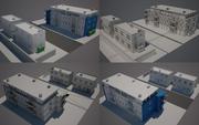 Ulica miasta N01 3d model