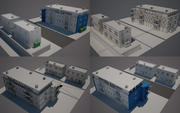 City Street N01 3d model