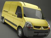 Renault Master Van 3d model