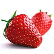草莓 3d model