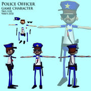 Policial 3d model