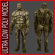 UltraLowPoly_Golem 3d model