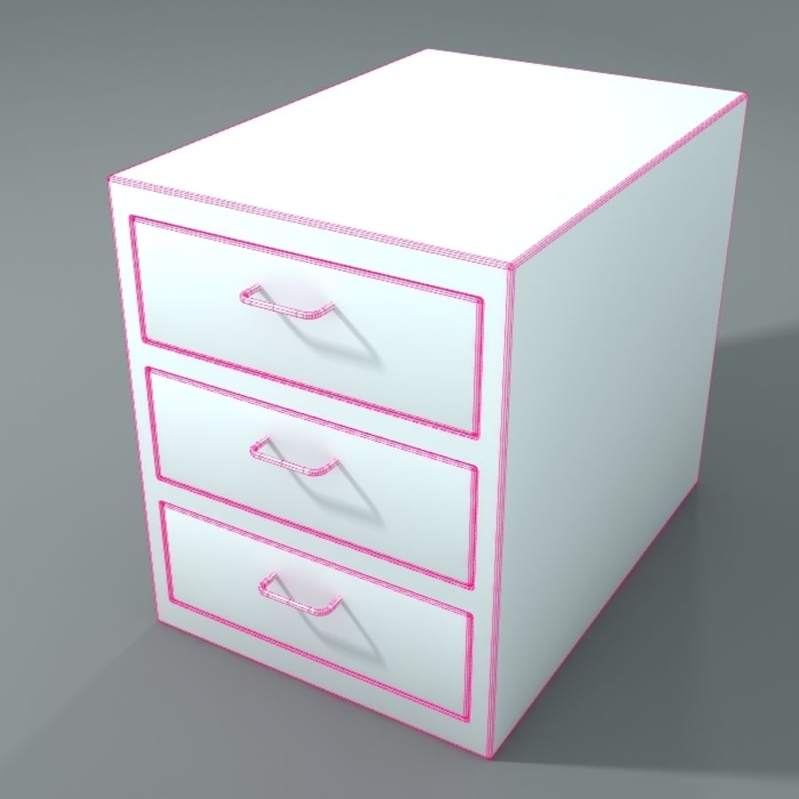 Office Closet royalty-free 3d model - Preview no. 2