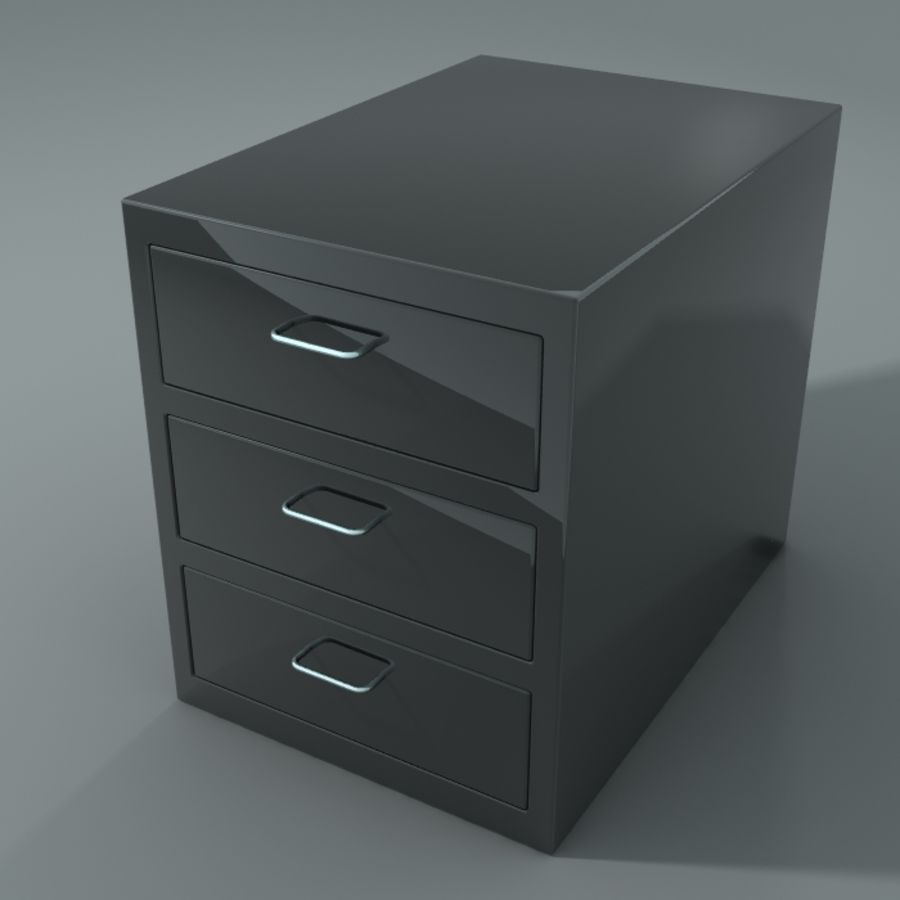 Office Closet royalty-free 3d model - Preview no. 1