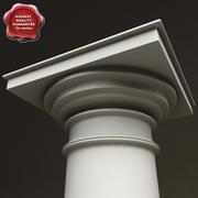 Tuscan Order Column 3d model