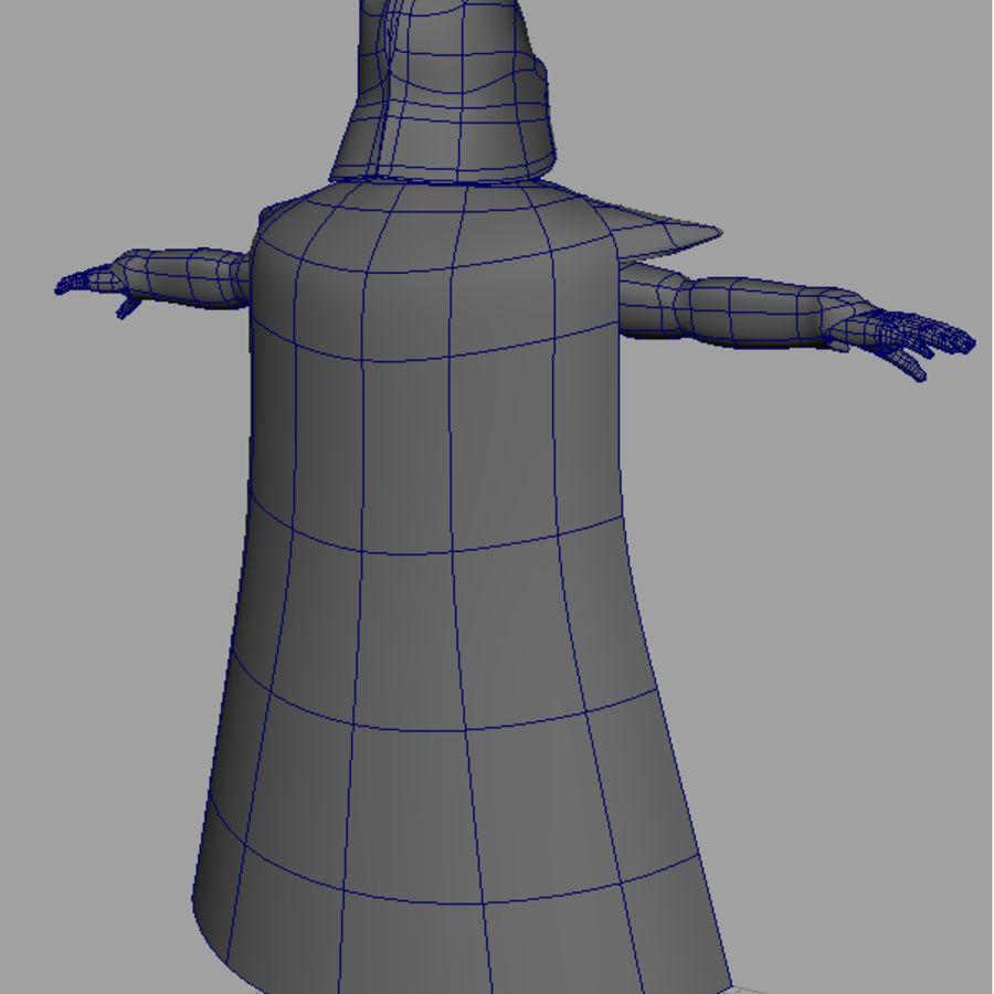 Karanlık Lord royalty-free 3d model - Preview no. 8