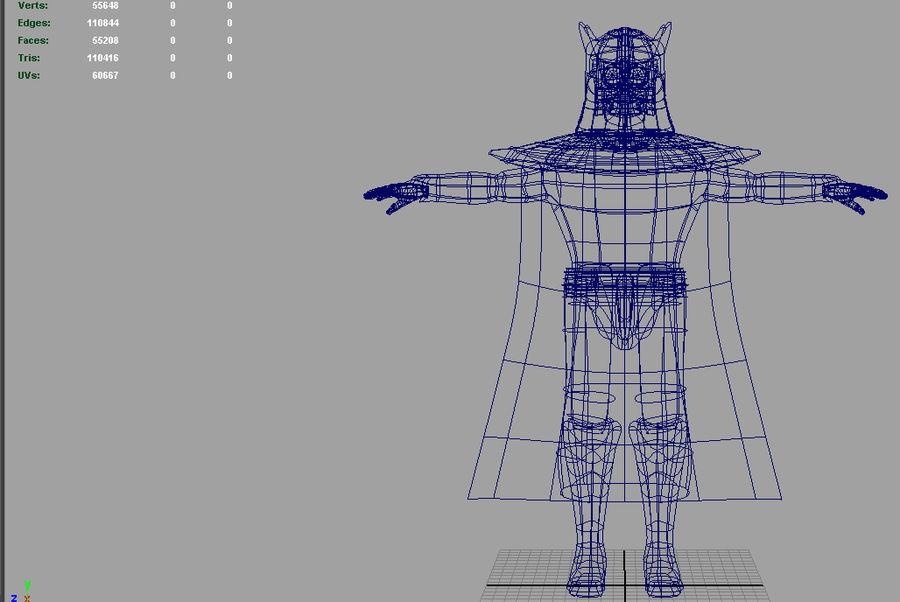 Karanlık Lord royalty-free 3d model - Preview no. 5