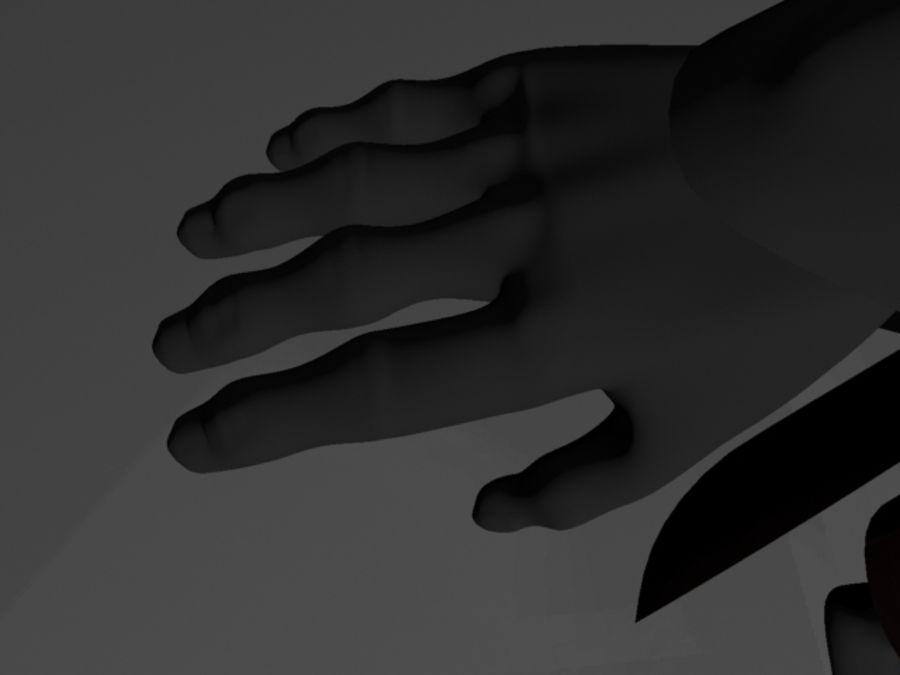 Karanlık Lord royalty-free 3d model - Preview no. 11