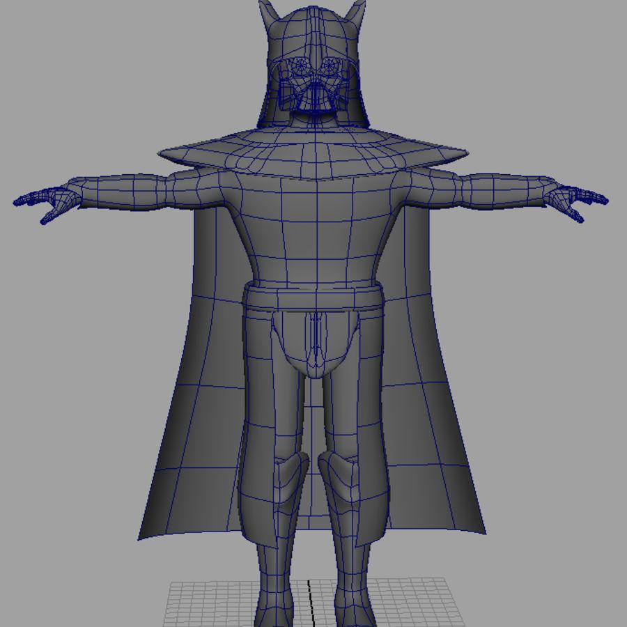 Karanlık Lord royalty-free 3d model - Preview no. 6
