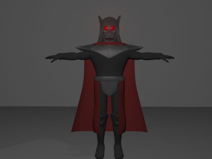 Karanlık Lord royalty-free 3d model - Preview no. 10