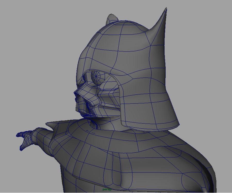 Karanlık Lord royalty-free 3d model - Preview no. 7
