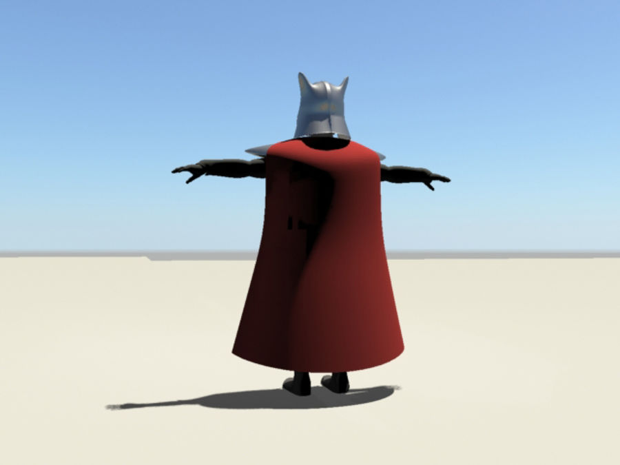 Karanlık Lord royalty-free 3d model - Preview no. 15
