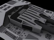 Torreta Pesada 3d model