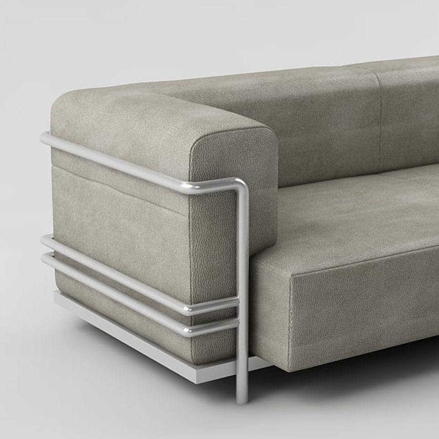 sofa_05 royalty-free 3d model - Preview no. 2