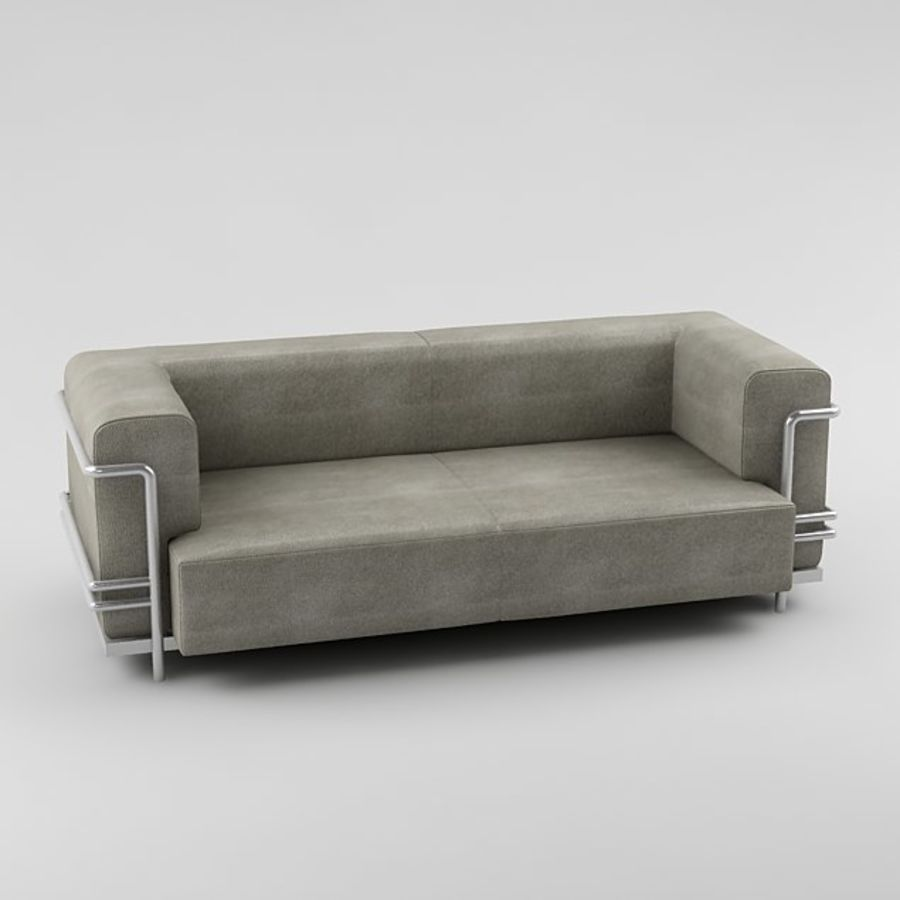 sofa_05 royalty-free 3d model - Preview no. 4