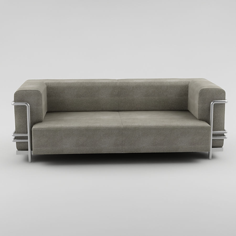 sofa_05 royalty-free 3d model - Preview no. 3