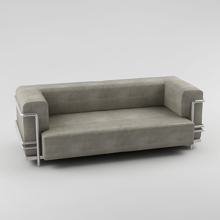 sofa_05 royalty-free 3d model - Preview no. 1