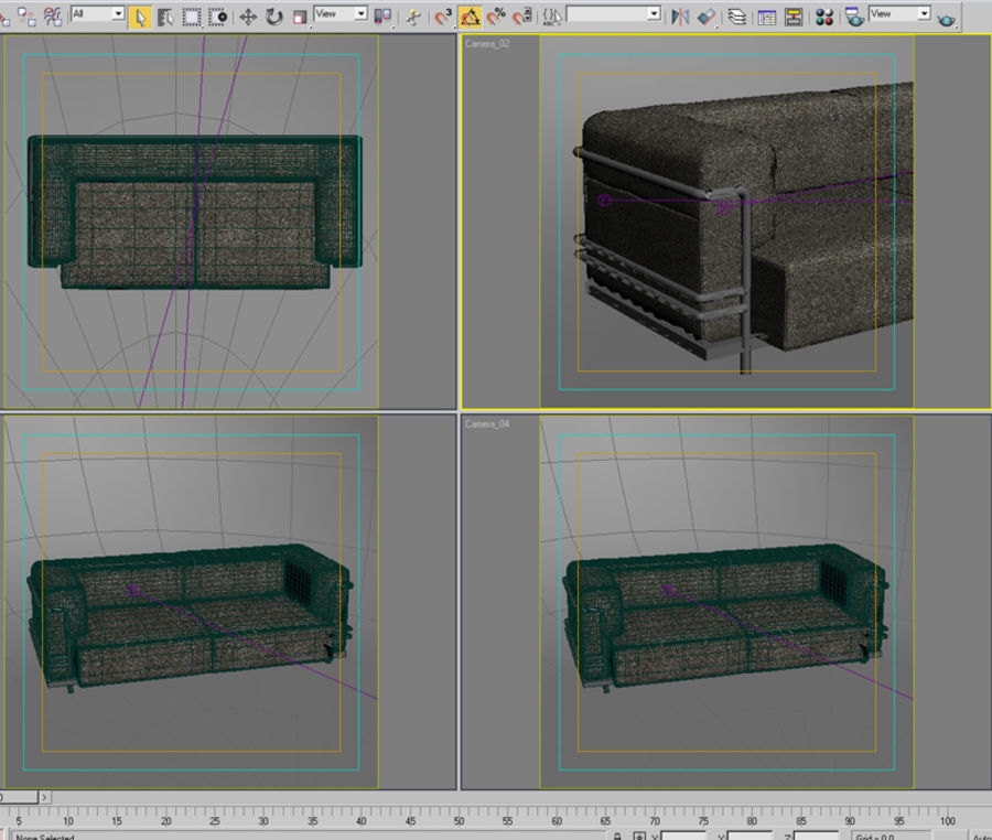 sofa_05 royalty-free 3d model - Preview no. 6