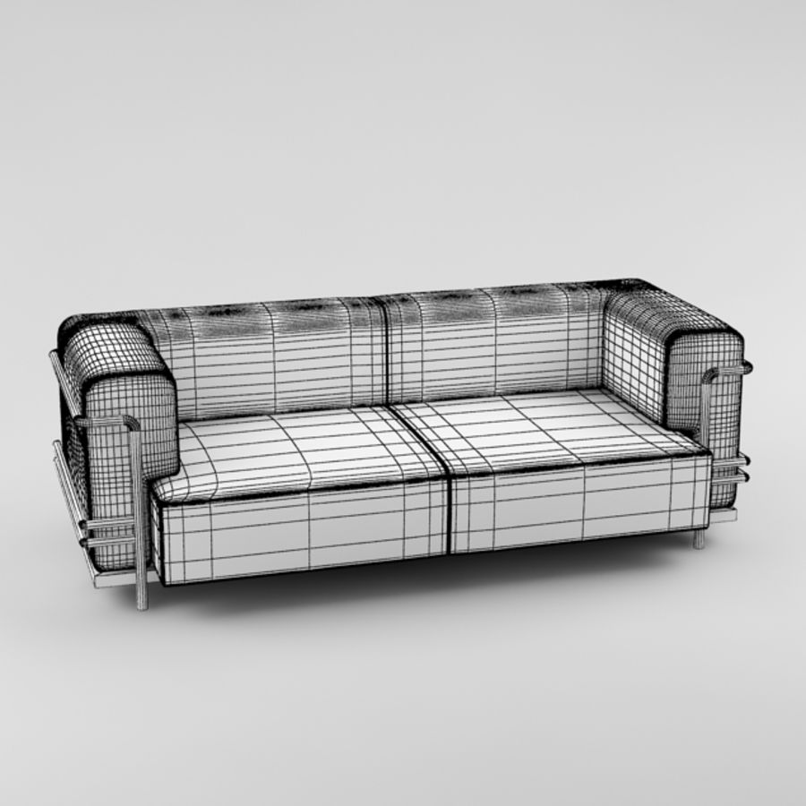 sofa_05 royalty-free 3d model - Preview no. 7