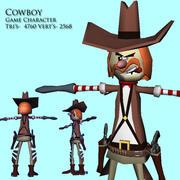 Cowboy Dude 3d model