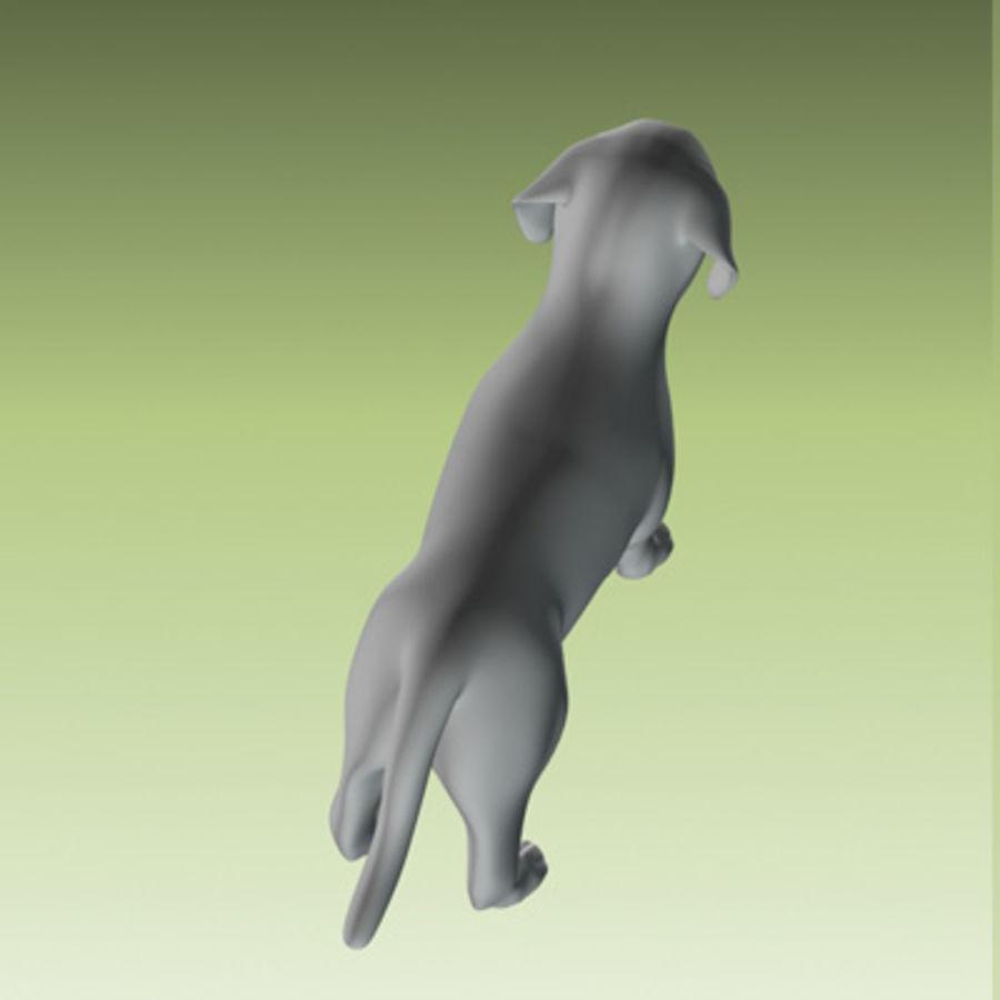 köpek yavrusu heykeli royalty-free 3d model - Preview no. 3
