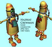 HazMat Crewman 3d model