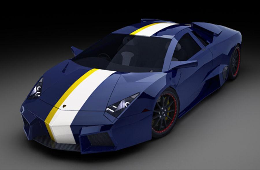 Lamborghini Reventon royalty-free 3d model - Preview no. 1