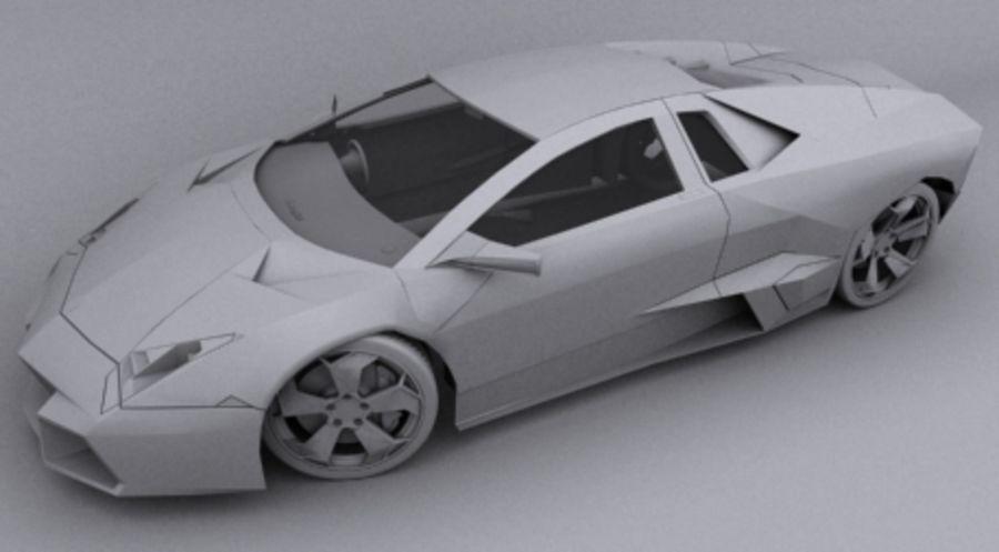 Lamborghini Reventon royalty-free 3d model - Preview no. 13