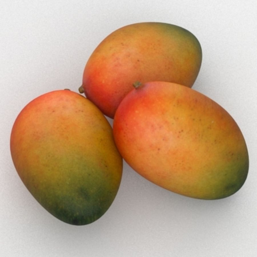 Mango royalty-free modelo 3d - Preview no. 4