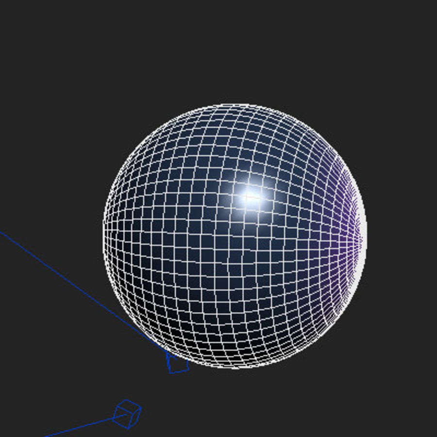 ball royalty-free 3d model - Preview no. 3