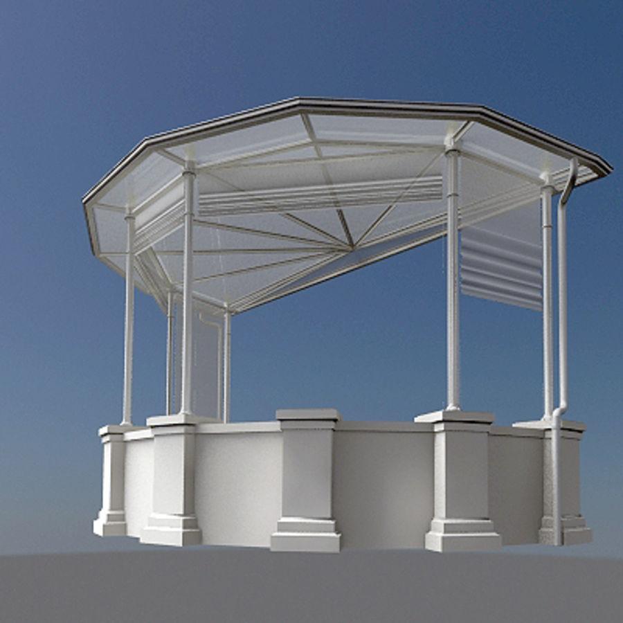 Garden canopy 3D Model $9 -  max  3ds  obj - Free3D