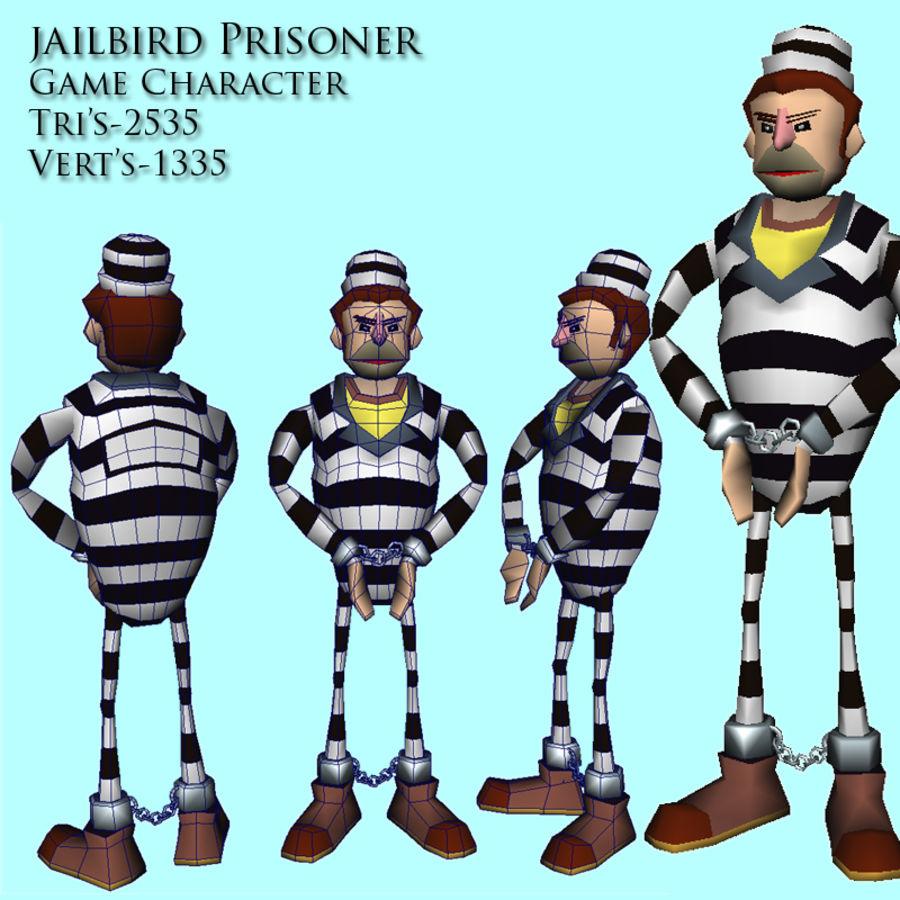 prigioniero royalty-free 3d model - Preview no. 4