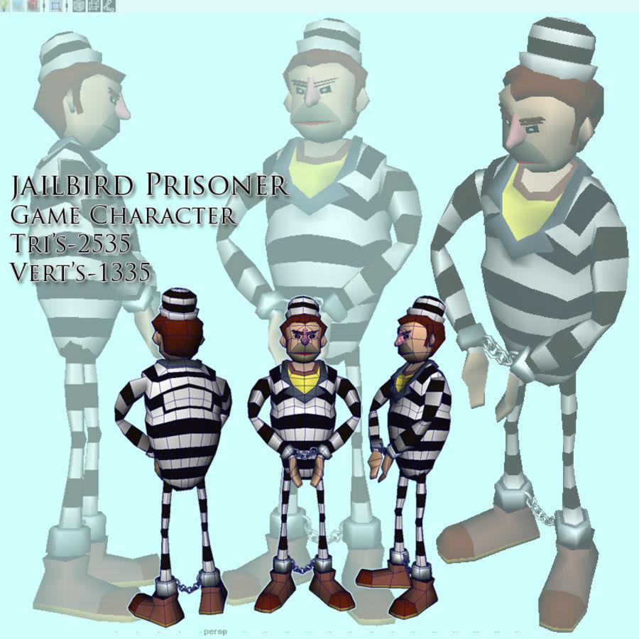 prigioniero royalty-free 3d model - Preview no. 1