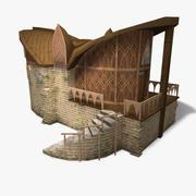 Elf Binası 3d model