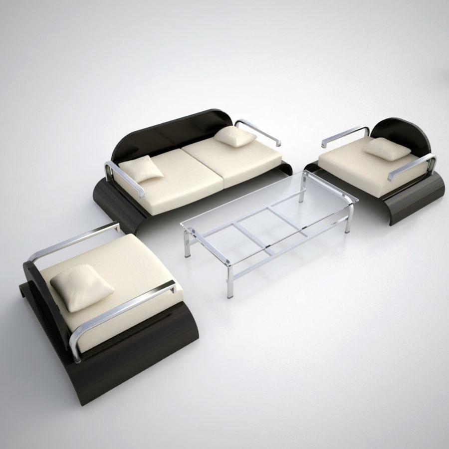 Design möbel uppsättning 2 royalty-free 3d model - Preview no. 2