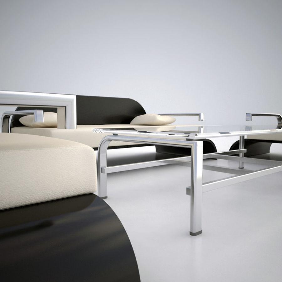 Design möbel uppsättning 2 royalty-free 3d model - Preview no. 4