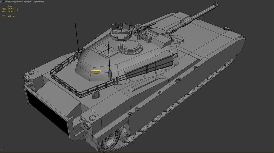PRV Tank royalty-free 3d model - Preview no. 3
