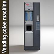 Vending cofee machine 3d model