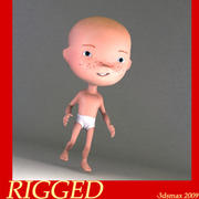 Cartoon Baby 3d model