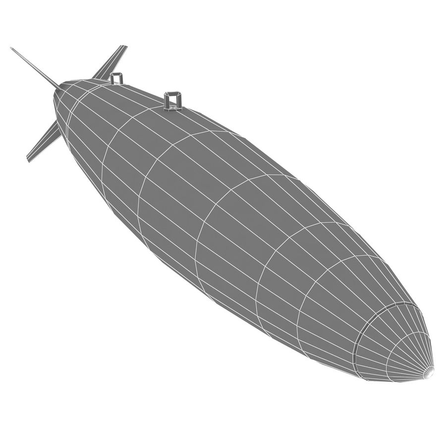 Aircraft Bomb Mk-84 royalty-free 3d model - Preview no. 12