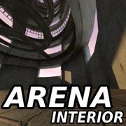 Sci Fi 인테리어 빌딩 경기장 3d model