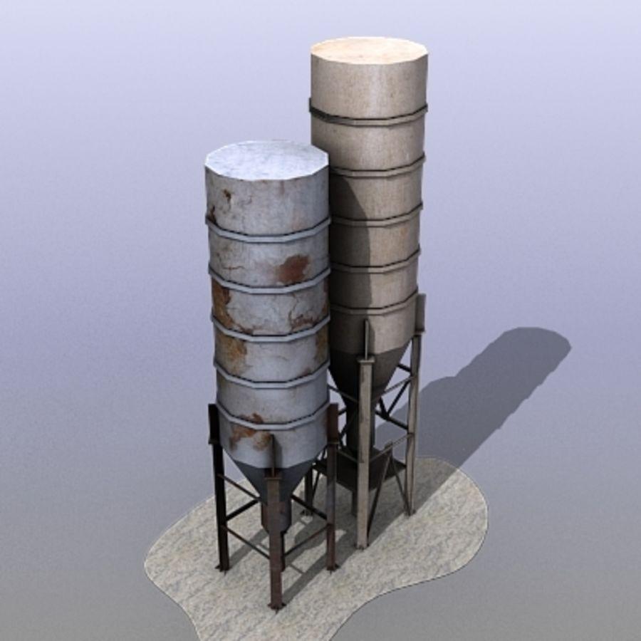 機械タンク royalty-free 3d model - Preview no. 2