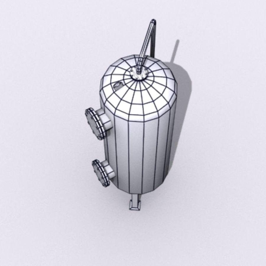 Stary zbiornik na wodę royalty-free 3d model - Preview no. 16