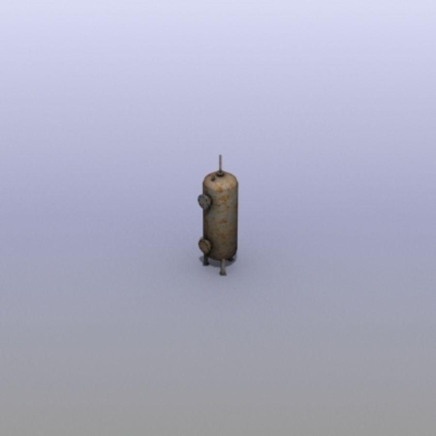 Stary zbiornik na wodę royalty-free 3d model - Preview no. 9