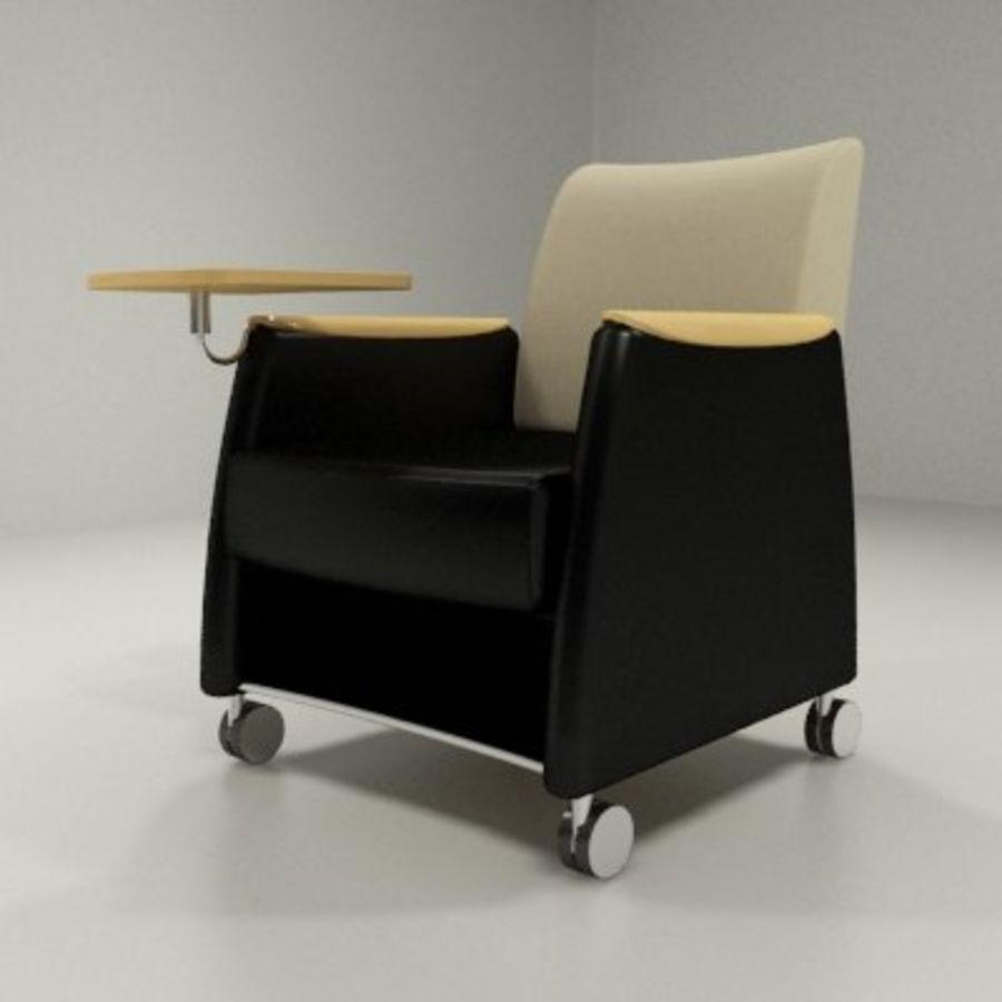Strange Aynsley Lounge Chair With Tablet Arm 3D Model 20 Max Inzonedesignstudio Interior Chair Design Inzonedesignstudiocom